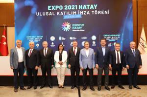 Başkan Böcek Hatay'da Büyükşehir Belediye Başkanları Toplantısına katıldı