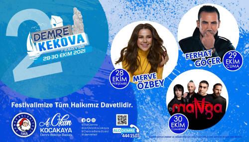 DEMRE KEKOVA FESTİVALİ