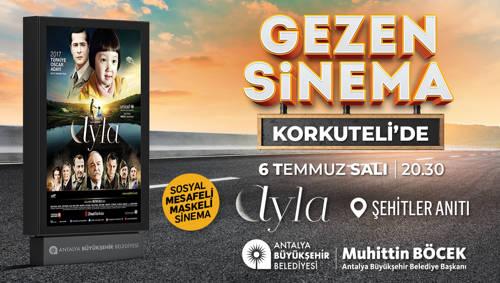 GEZEN SİNEMA KORKUTELİ'DE
