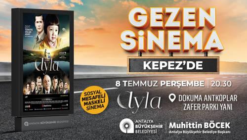 GEZEN SİNEMA KEPEZ'DE