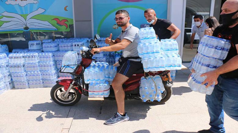 Büyükşehir 19 ilçede bağış merkezleri kurdu