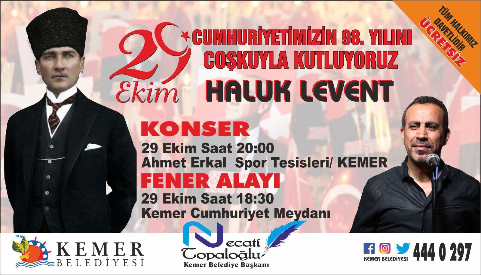 HALUK LEVENT KONSERİ