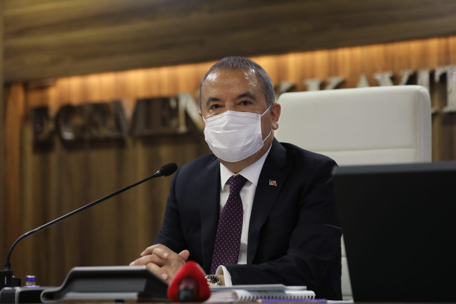 Büyükşehir Belediye Meclisi Başkan Muhittin Böcek başkanlığında toplandı
